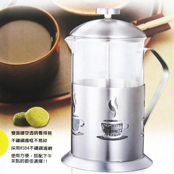 妙管家特級不鏽鋼沖茶器-700ml-2入組