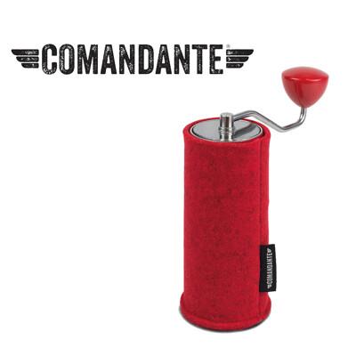 【德國】COMANDANTE頂級手搖磨豆機 保護套 (番茄紅) (7.3折)