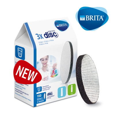 BRITA 二代Fill&Go 0.6L 隨身濾水瓶專用濾芯Filter Disc (7.1折)