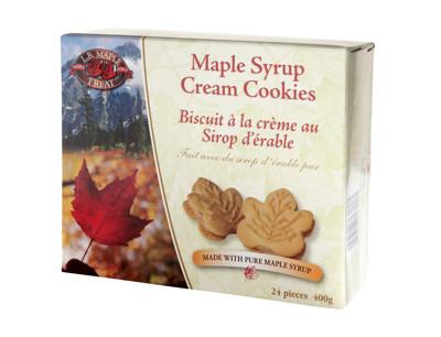 加拿大L.B.Maple楓糖夾心餅乾 24片 3盒 (8.3折)