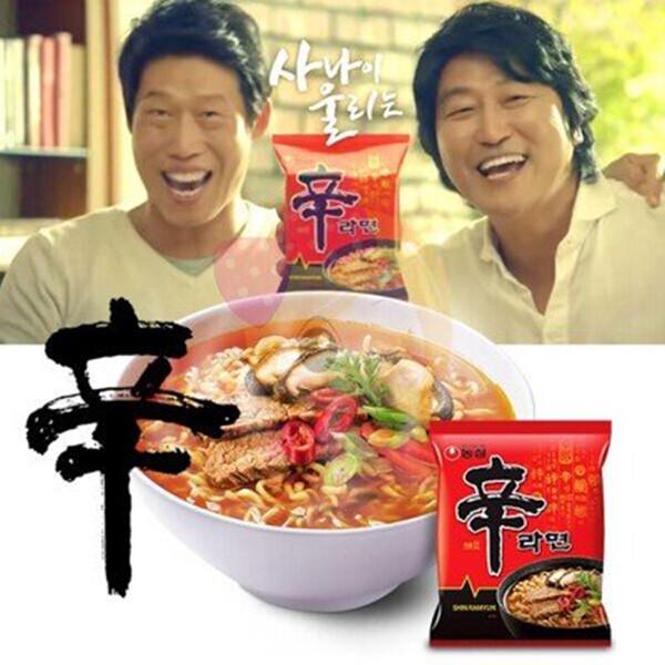 韓國 農心 辛拉麵 泡麵 4入/袋