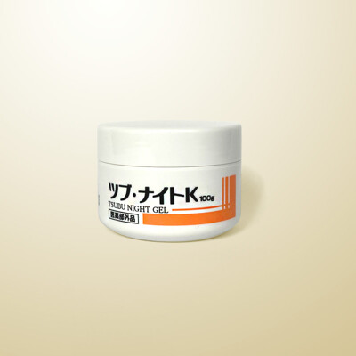 日本Tsubu Night Pack去眼部油脂粒夜間修護眼膜 去除眼角質粒 小肉芽 100g (6.6折)