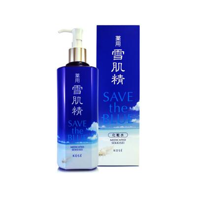 日本 高絲 Kose 雪肌精 Save the Blue 海洋限量版 化妝水 500ml (6.2折)