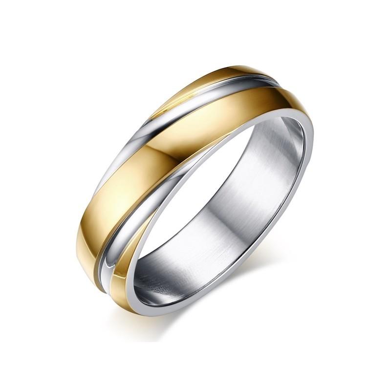 316小舖c426(優質精鋼戒指-時尚魅力金款鋼戒-單件價 /鈦鋼戒指/批發飾品/超低價/便宜出