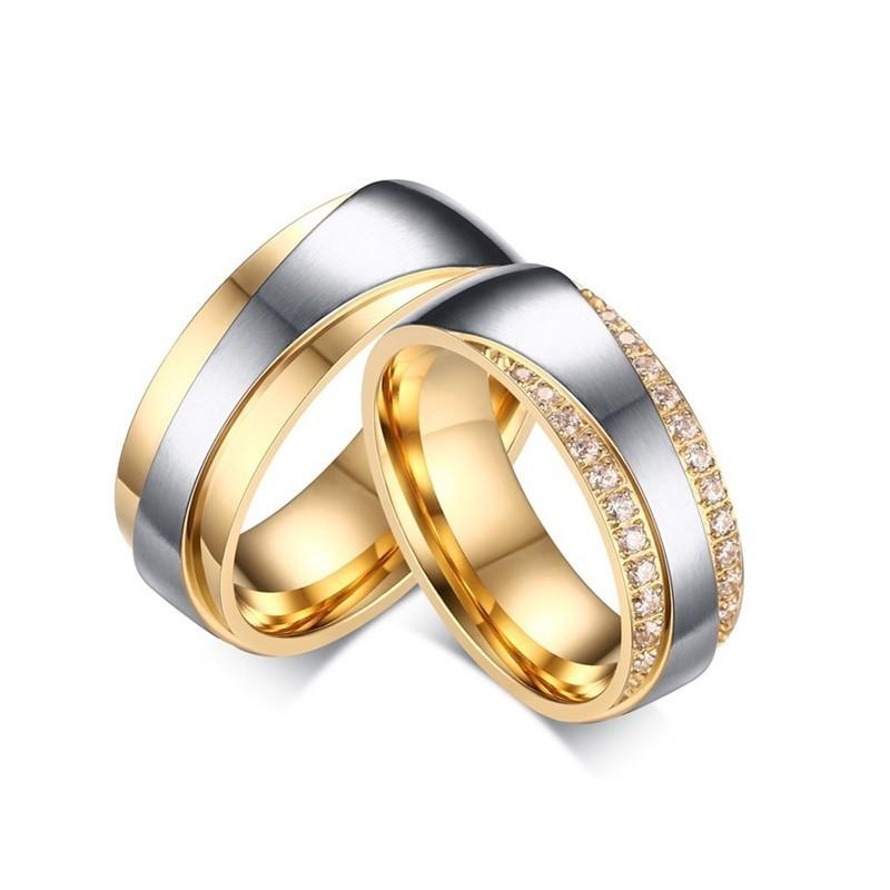 316小舖c521(優質鈦鋼戒指-奢華精鑽情侶鋼戒-單件價/金對戒/水鑽對戒子/滿月禮物/18歲