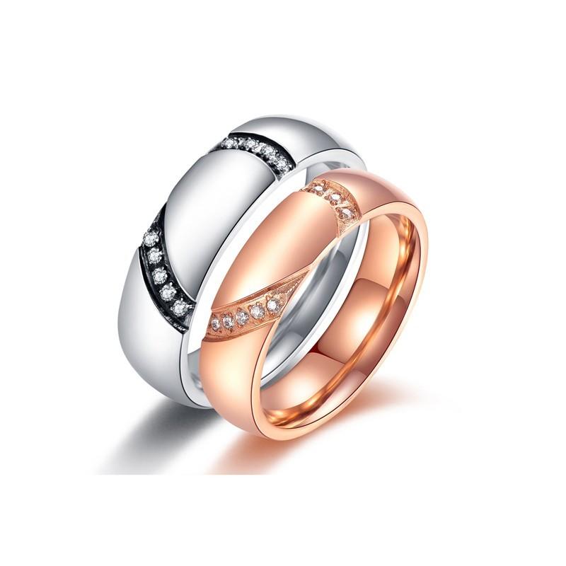 316小舖c493(優質鈦鋼戒指-今生愛你鋼對戒-單件價 /情人愛心戒指/合併鋼戒/可合併戒指造