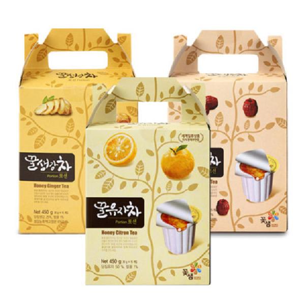 韓國Honey Citron Tea-隨身茶球膠囊禮盒-蜂蜜柚子/紅棗/生薑茶(1盒/2盒/4盒)