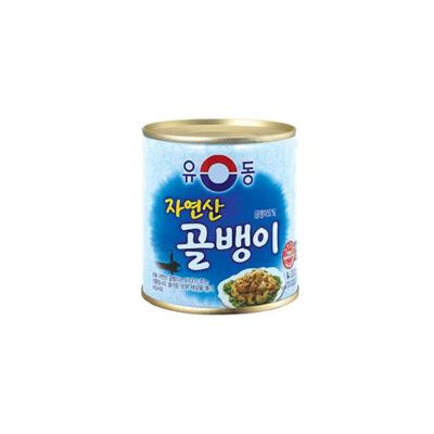 韓國原裝進口【螺肉罐頭 230g】,香Q有嚼勁的口感和鮮甜湯汁,讓人一吃就愛上的美味! (7.8折)