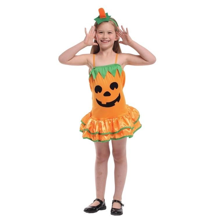 派對達人萬聖節服裝,萬聖節裝扮,變裝派對,南瓜裝/兒童變裝服-南瓜寶貝裝
