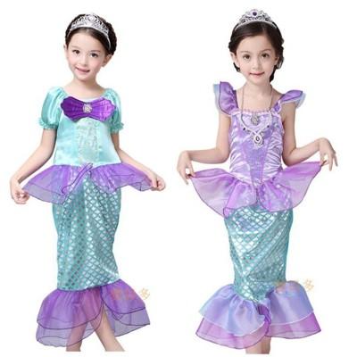 ☆派對達人☆萬聖節服裝,萬聖節裝扮,聖誕舞會,美人魚裝扮,兒童變裝服-美人魚服裝 (8.5折)