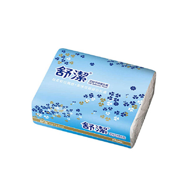 舒潔平版衛生紙(400張*6包*8袋 /箱)