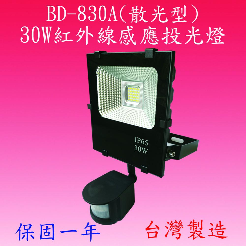 豐爍bk-850a   50w戶外型感應投光燈(台灣製)滿3500元以上送一顆led燈泡