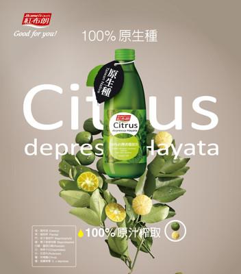 【滿額送再送好禮】【買二送一】紅布朗 台灣香檬原汁 300ml(罐裝) (1.6折)