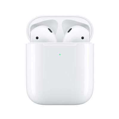 Apple原廠 AirPods 無線藍牙耳機-2019新款第2代(搭配有線充電盒) (8.7折)