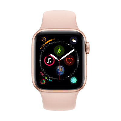 【福利品】Apple Watch Series4 (GPS+Cellular, 40mm)-金色鋁殼 (6.6折)