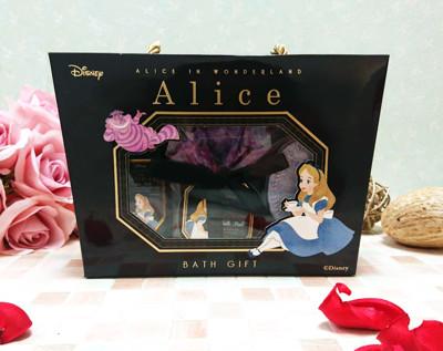 迪士尼 DISNEY 愛麗絲 ALICE 沐浴禮盒5件組 入浴劑 沐浴球 (7.5折)