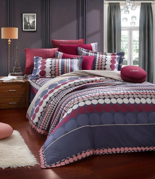 柔瑟家居奧斯汀品牌美國精梳棉三件式床包組5尺蒙塔迪