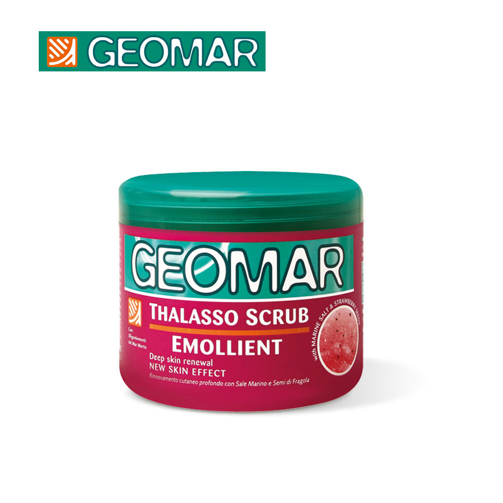[geomar 吉兒瑪] 死海礦物精油身體磨砂膏 (草莓精華) - q 彈緊緻