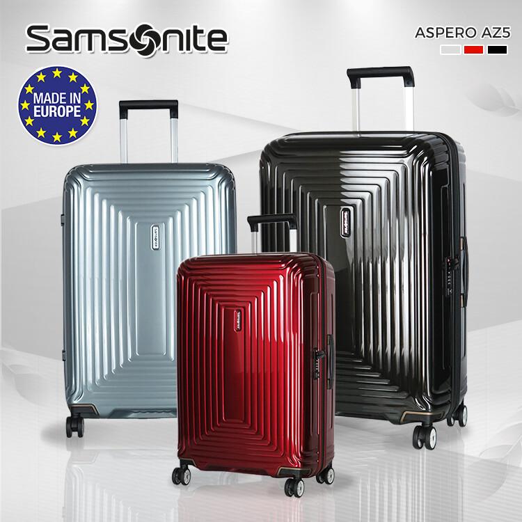 samsonite 新秀麗 pc材質 雙排靜音輪 az5 行李箱 20吋