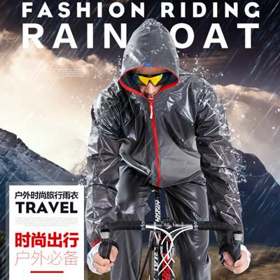 kz-003升級版超輕量兩件式雨衣套裝 外套雨褲 防水防風 機車自行車(4色可選/s-2xl) (7.9折)