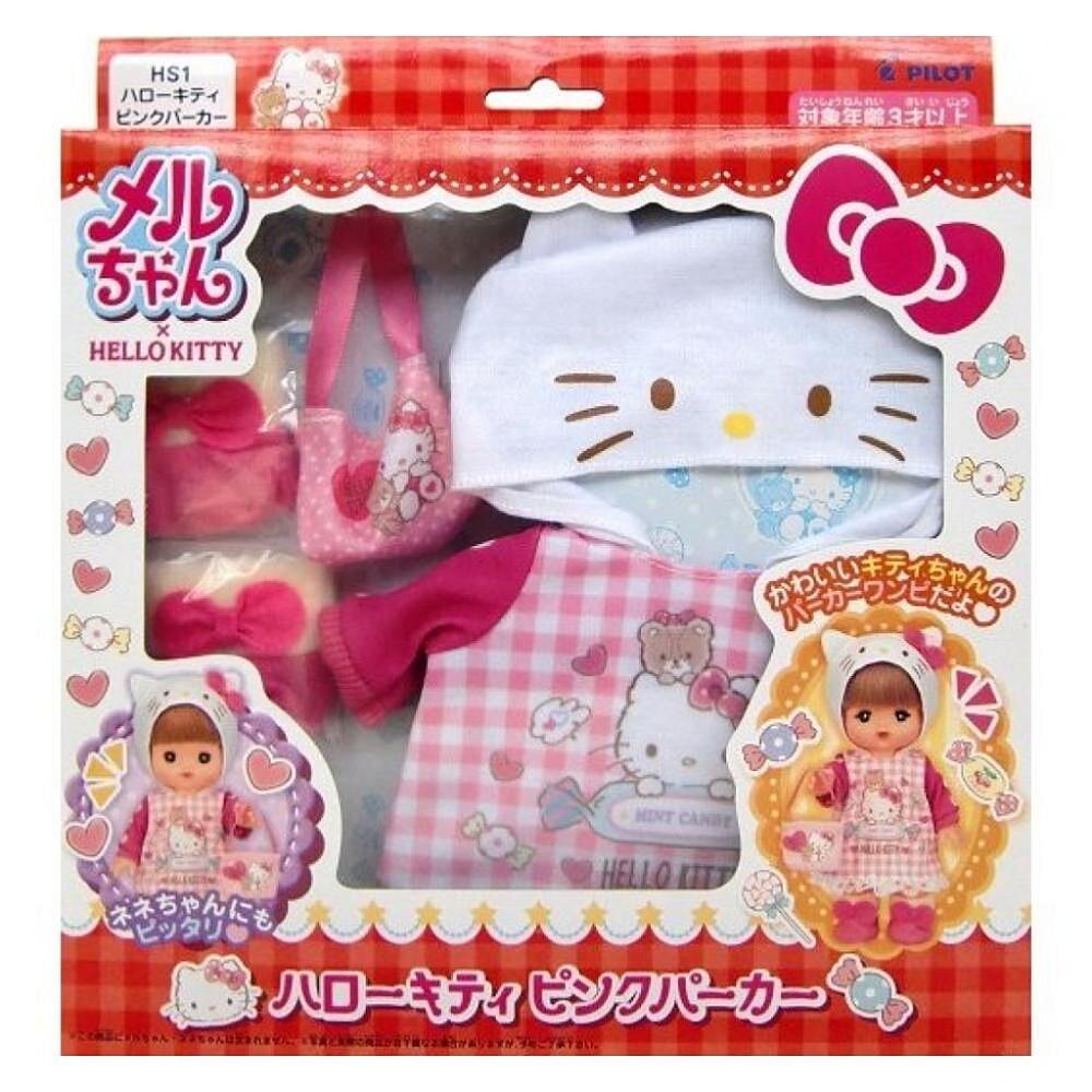 三麗鷗 凱蒂貓 hello kitty & 小美樂娃娃配件組 514924