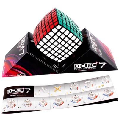 <超級頭腦>七階魔術方塊顺滑比赛競速專業魔方玩具趣味啟智系類安全材料 7X7益智遊戲 (5折)