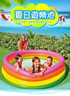 INTEX-168公分圓形充氣泳池(買整箱省更多) (2.8折)