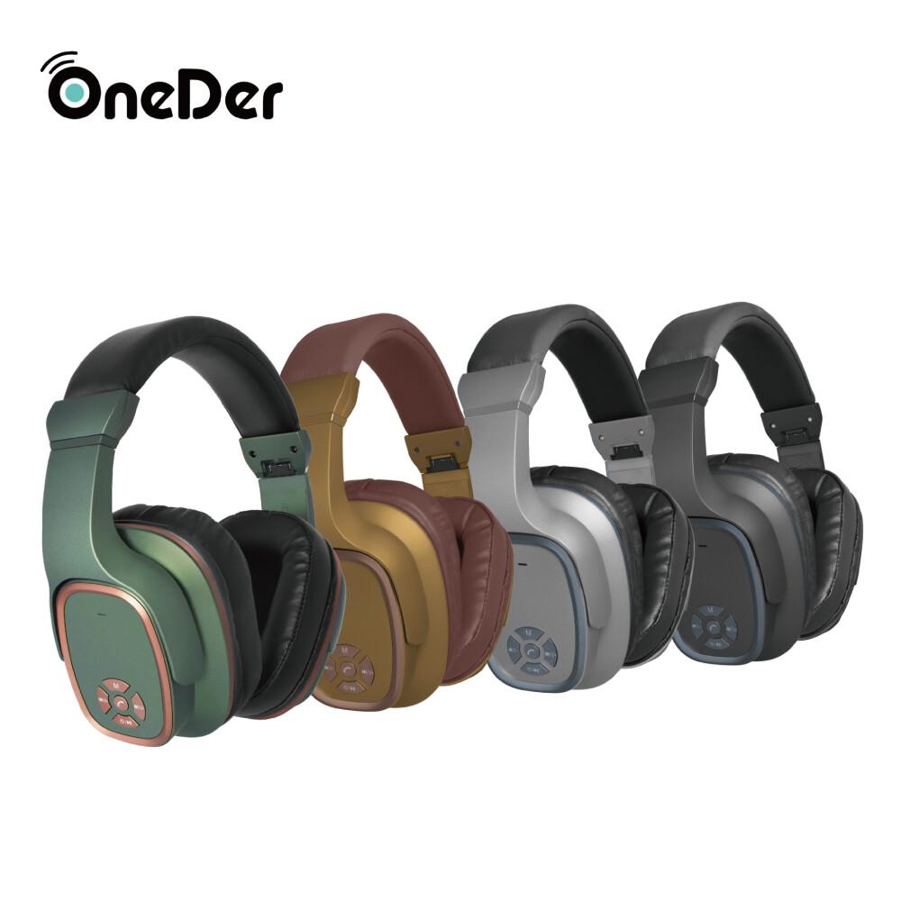oneder頭戴式多功能藍牙耳機喇叭