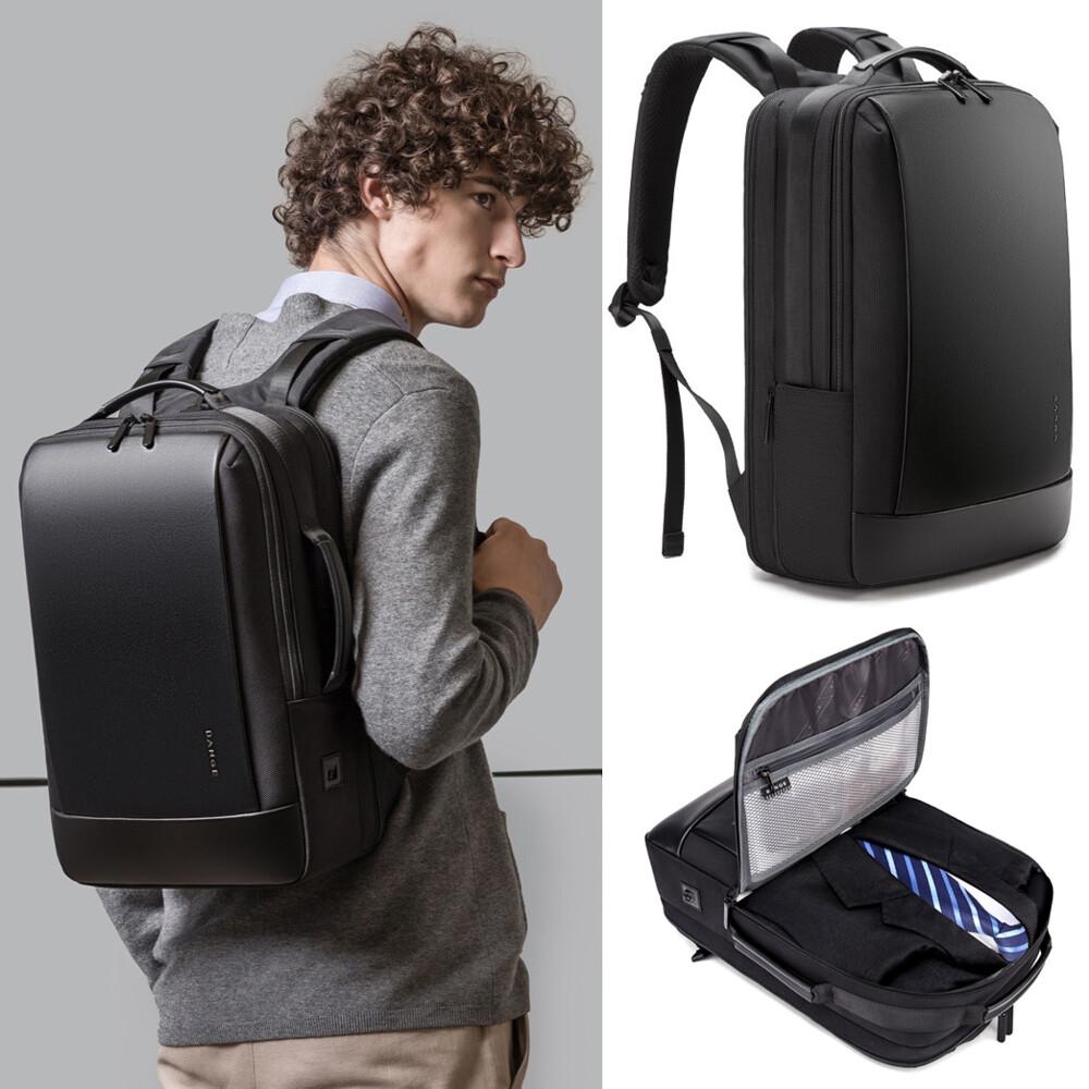 歐系16吋簡約商務旅行後背包