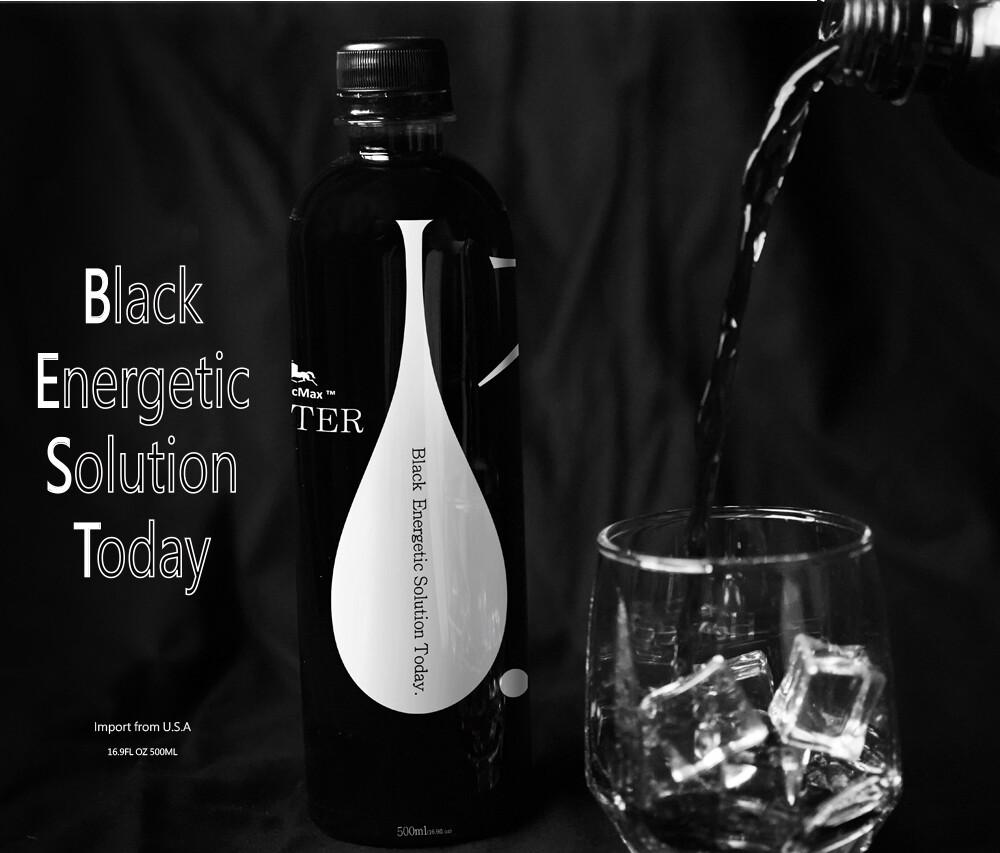 礦泉水的愛馬仕-blacmax 黑色礦質水 500ml