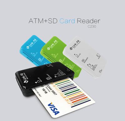 Link All C230 多功能ATM讀卡機(四色) (5.6折)