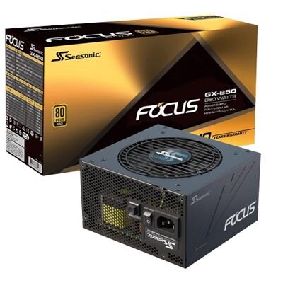 海韻 Focus GX-850全模組金牌80+電源10Y (9.3折)