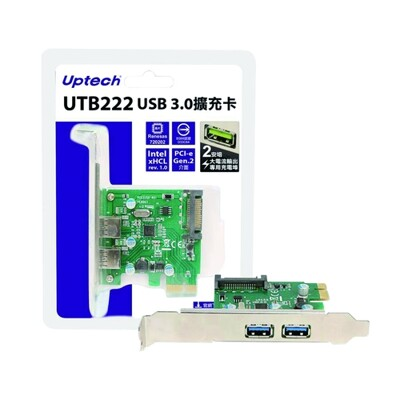 UTB222(A) USB3.0擴充卡PCI-e (8.9折)