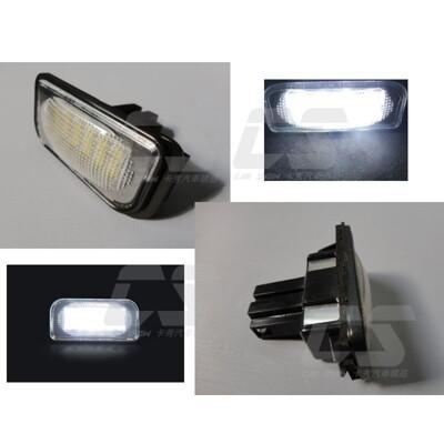 BENZ賓士 canbus W204 W204 5D W221 W212 W216專用牌照燈 (6折)