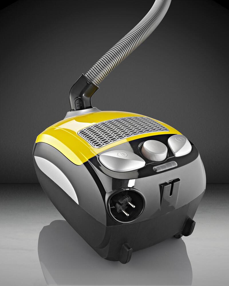 gorenje可調式節能吸塵器(hepa等級) - 黃色
