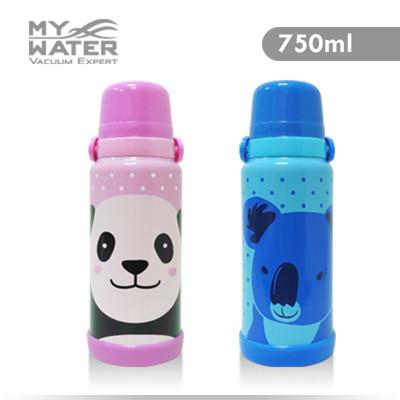 MY WATER淘氣貓熊無尾熊保溫瓶750ml 2色可選 (4.6折)
