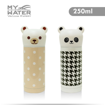 MY WATER Q小熊Q貓熊保溫杯 250ml2選 (6.2折)