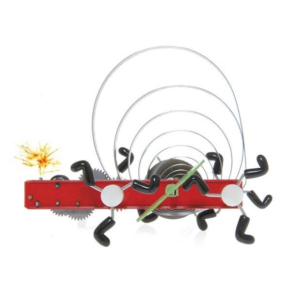 賽先生科學工廠發條玩具-火花機械蟲 awika