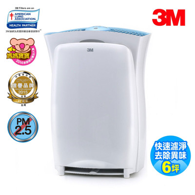 【3M】淨呼吸超濾淨型進階版6坪空氣清淨機CHIMSPD-01UCRC-1 (8折)