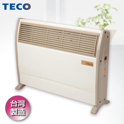 【TECO東元】 浴室臥房兩用防潑水微電腦電暖器 YN2001CB (9.5折)