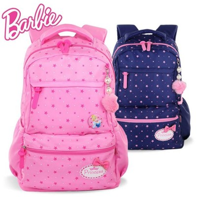 【STAR BABY】迪士尼正品 芭比公主系列 學生書包 透氣 護脊 防潑水 後背包 1-3-6年級 (7.8折)