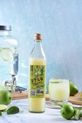 (雷夢兄弟)100%純檸檬原汁500cc玻璃瓶裝 (1.7折)