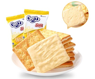 【Gery】厚醬起司蘇打餅 360g(20包=40片入) (5折)
