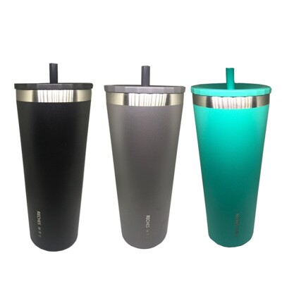 RECHES 瑞齊士 316不鏽鋼 700ML真空吸管杯 SGS檢驗合格 保溫杯 (6.2折)