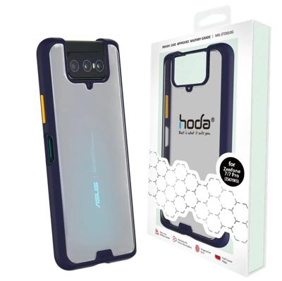贈充電線 hoda ASUS ZenFone7 手機殼 防摔殼  ZS671KS 柔石 霧面 防指紋 (6.5折)