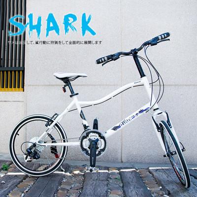 ISHOW網 AiBIKE SHIMANO 20吋24速 鯊魚小徑車 小徑車 (7.9折)