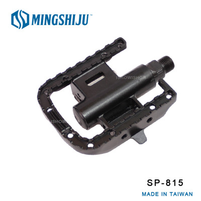 ISHOW網 MINGSHIJU名師車 SP-815 鋁合金SPD雙用踏板 自行車專業踏板 - 黑色 (6.8折)