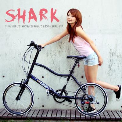 ISHOW網 AiBIKE SHIMANO 20吋27速 鯊魚小徑車 二代進階款 小徑車 (8.3折)