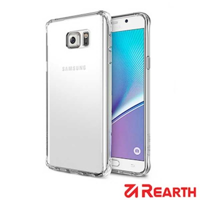Rearth 三星 Galaxy Note 5 (Ringke Fusion) 高質感保護殼(透明) (5.3折)