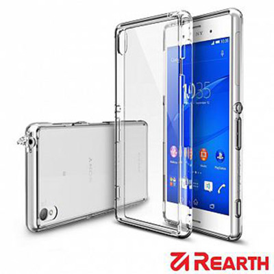 Rearth Sony Xperia Z3 (Ringke Fusion)高質感保護殼(透明) (6折)